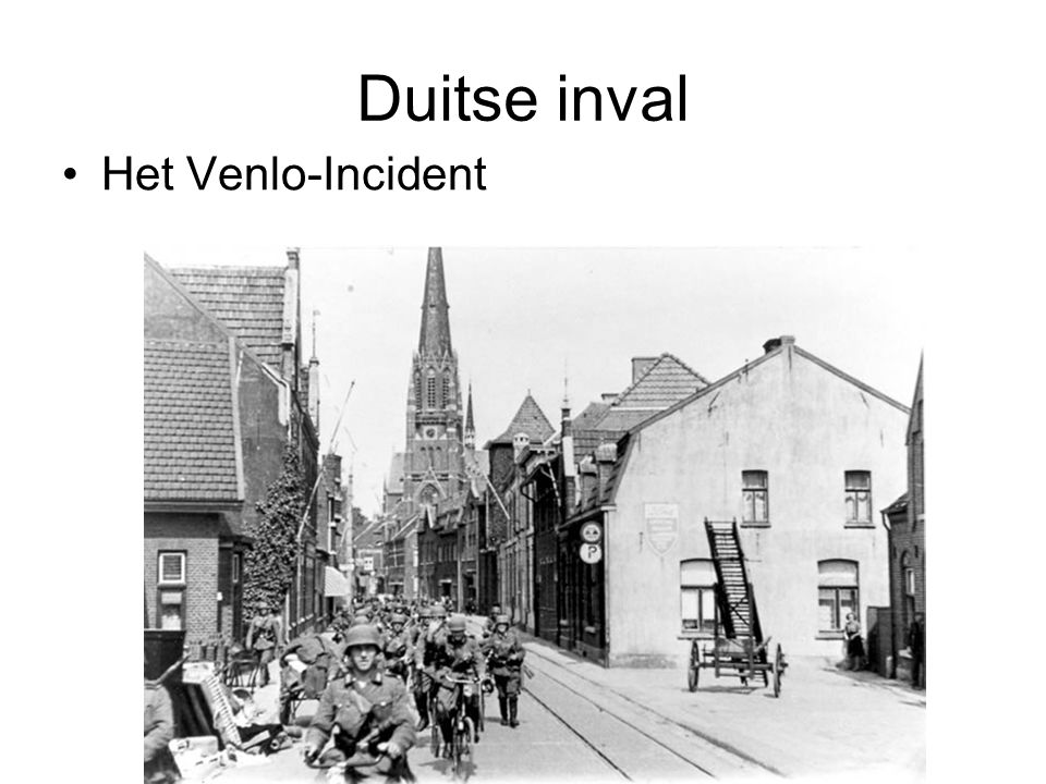 Duitse inval Het Venlo-Incident © Stef van der Velden 2011