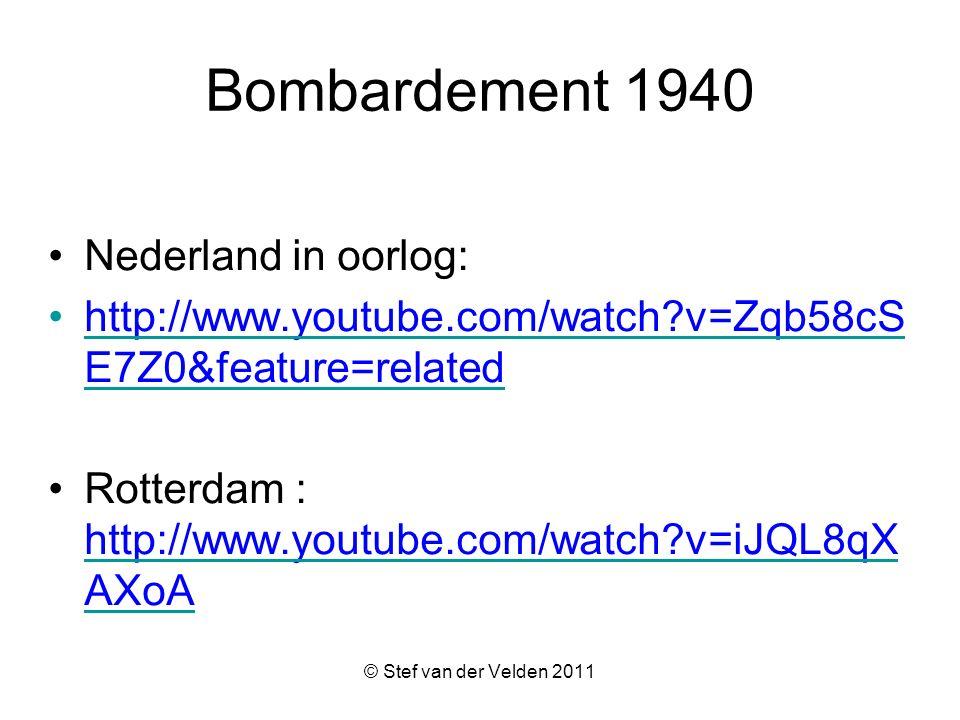 Bombardement 1940 Nederland in oorlog: