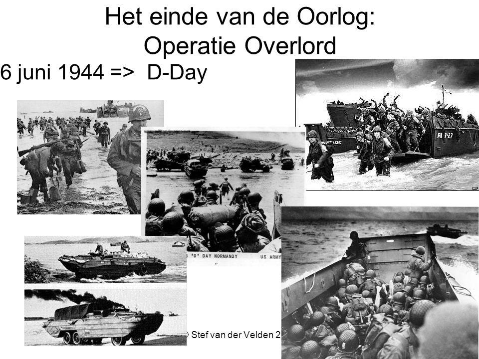 Het einde van de Oorlog: Operatie Overlord