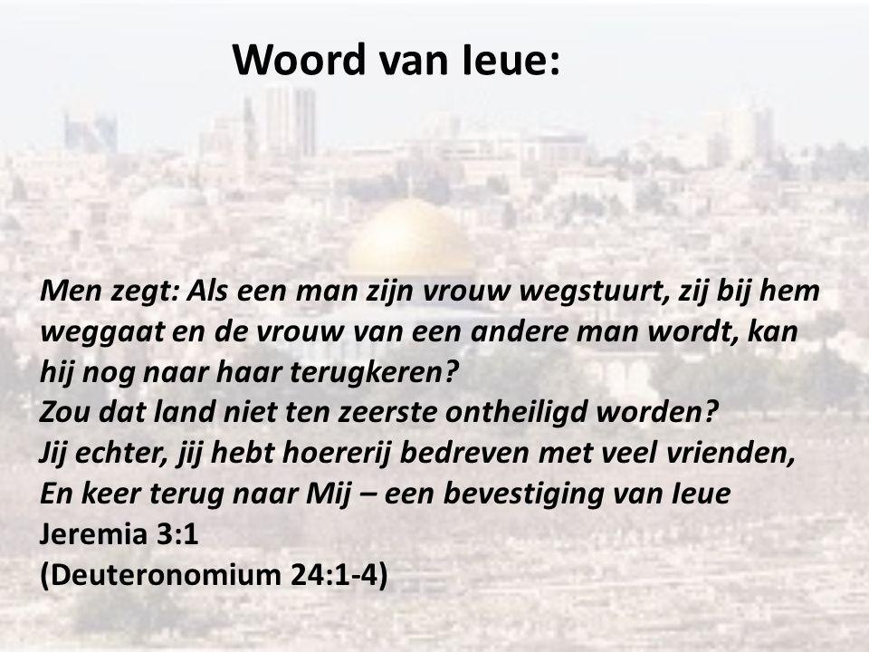 Woord van Ieue: