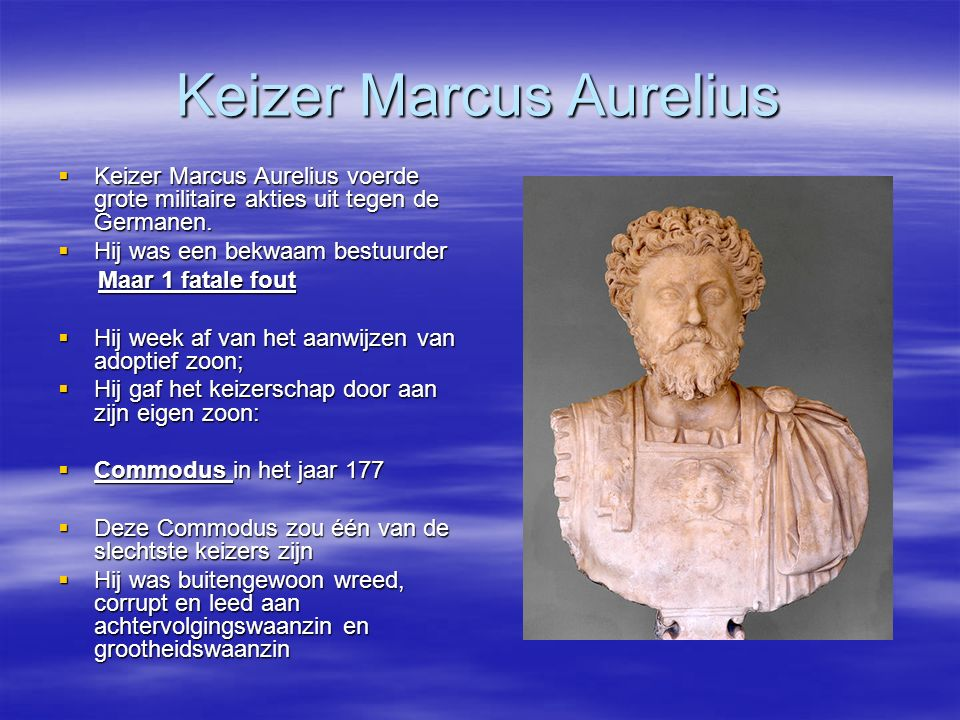 Keizer Marcus Aurelius
