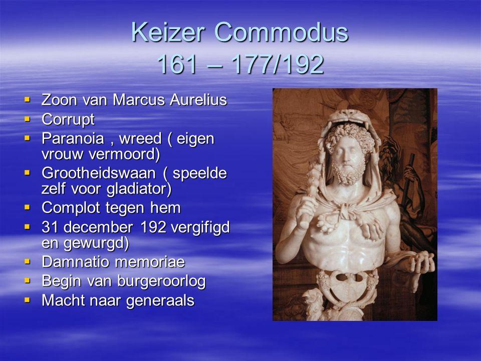 Keizer Commodus 161 – 177/192 Zoon van Marcus Aurelius Corrupt