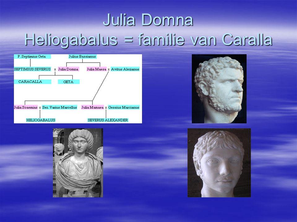 Julia Domna Heliogabalus = familie van Caralla