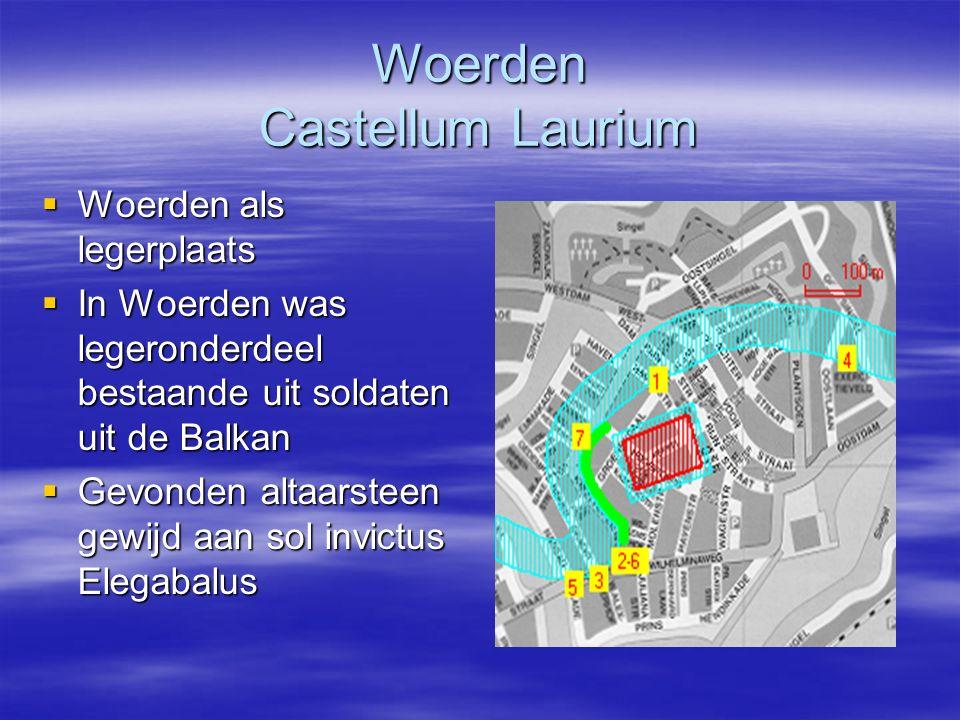 Woerden Castellum Laurium