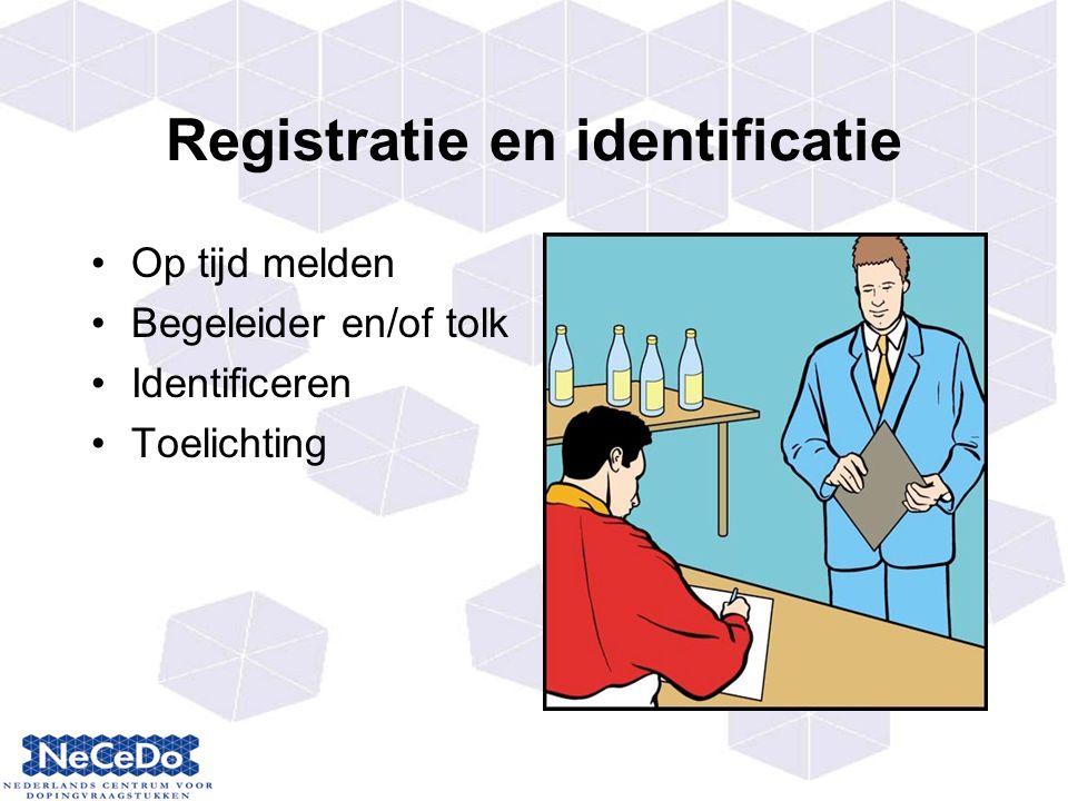 Registratie en identificatie