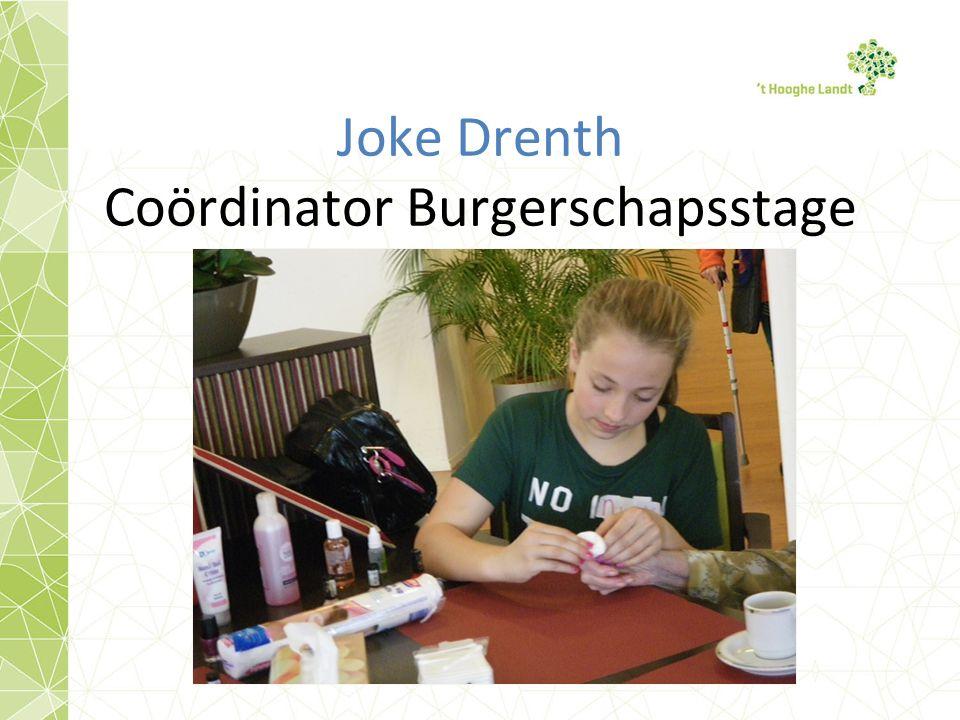 Joke Drenth Coördinator Burgerschapsstage