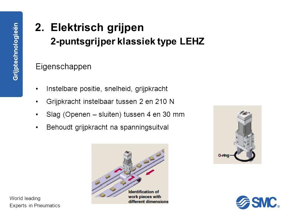 2. Elektrisch grijpen 2-puntsgrijper klassiek type LEHZ