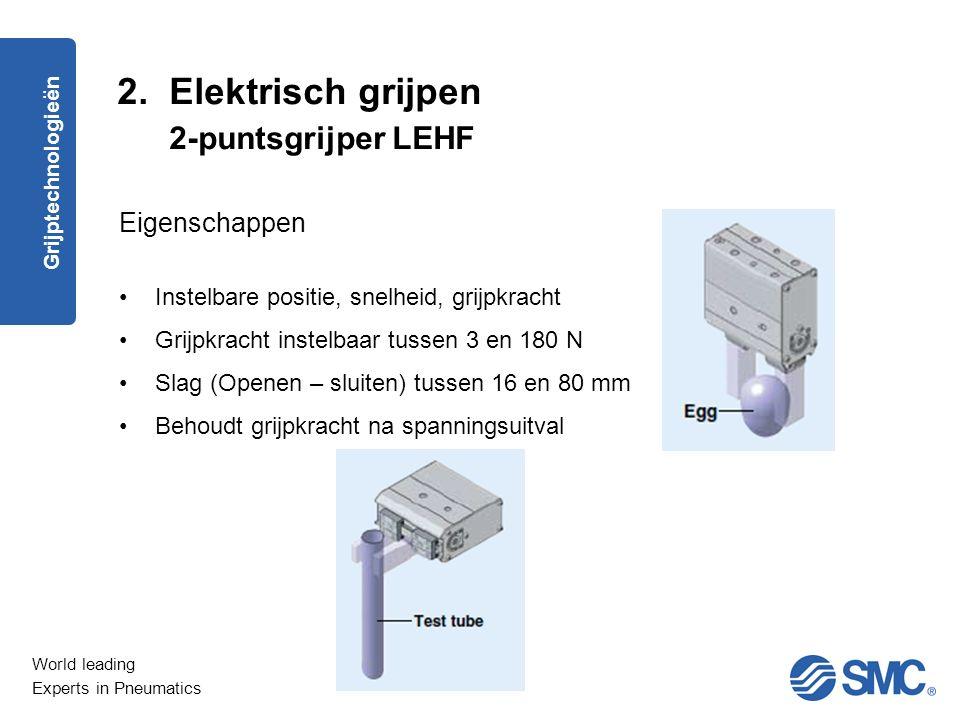 2. Elektrisch grijpen 2-puntsgrijper LEHF