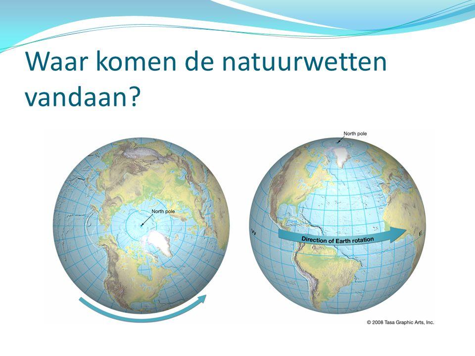 Waar komen de natuurwetten vandaan