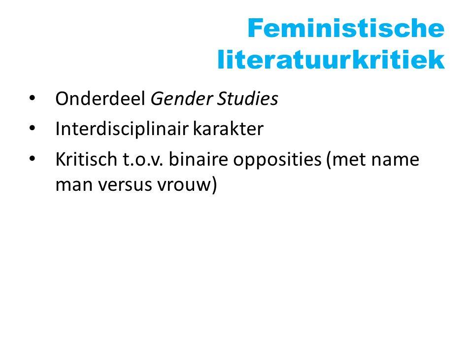 Feministische literatuurkritiek