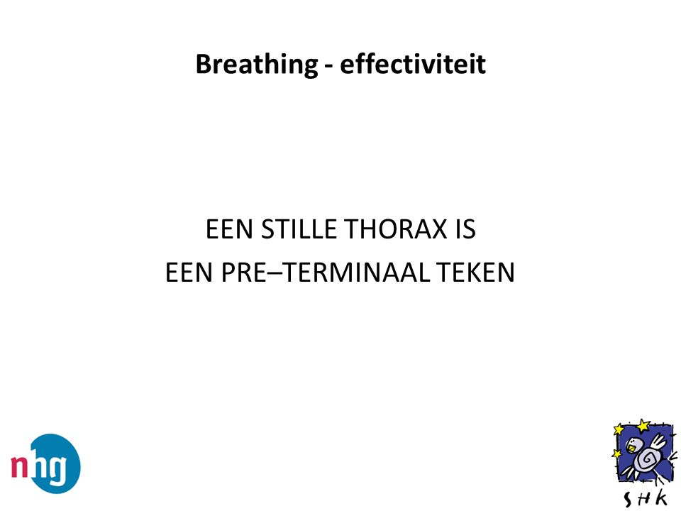 Breathing - effectiviteit