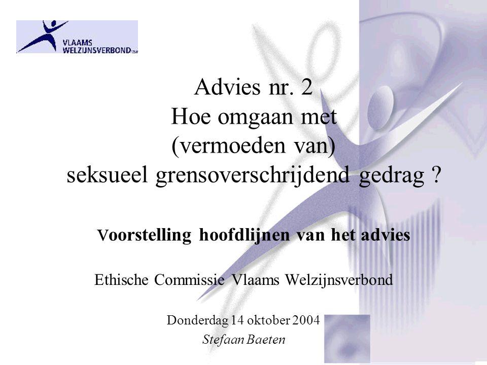 Ethische Commissie Vlaams Welzijnsverbond