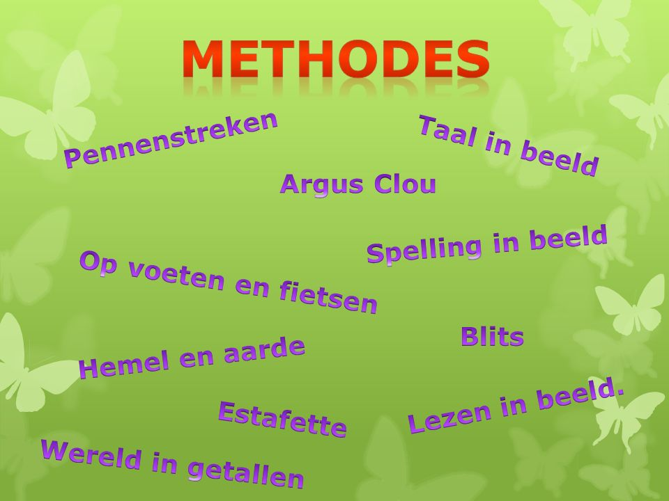 Methodes Pennenstreken Taal in beeld Argus Clou Spelling in beeld