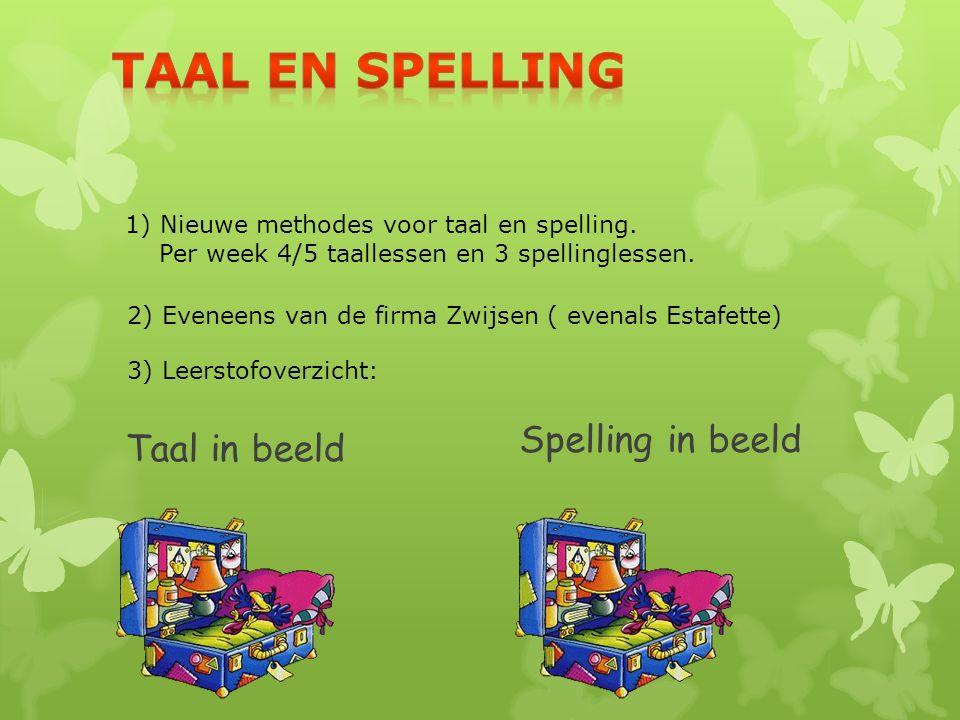Spelling in beeld Taal in beeld Taal en spelling