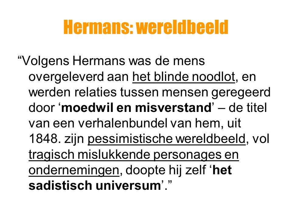 Hermans: wereldbeeld