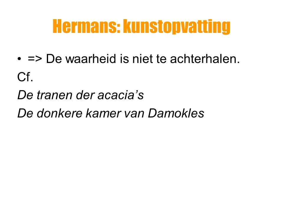 Hermans: kunstopvatting