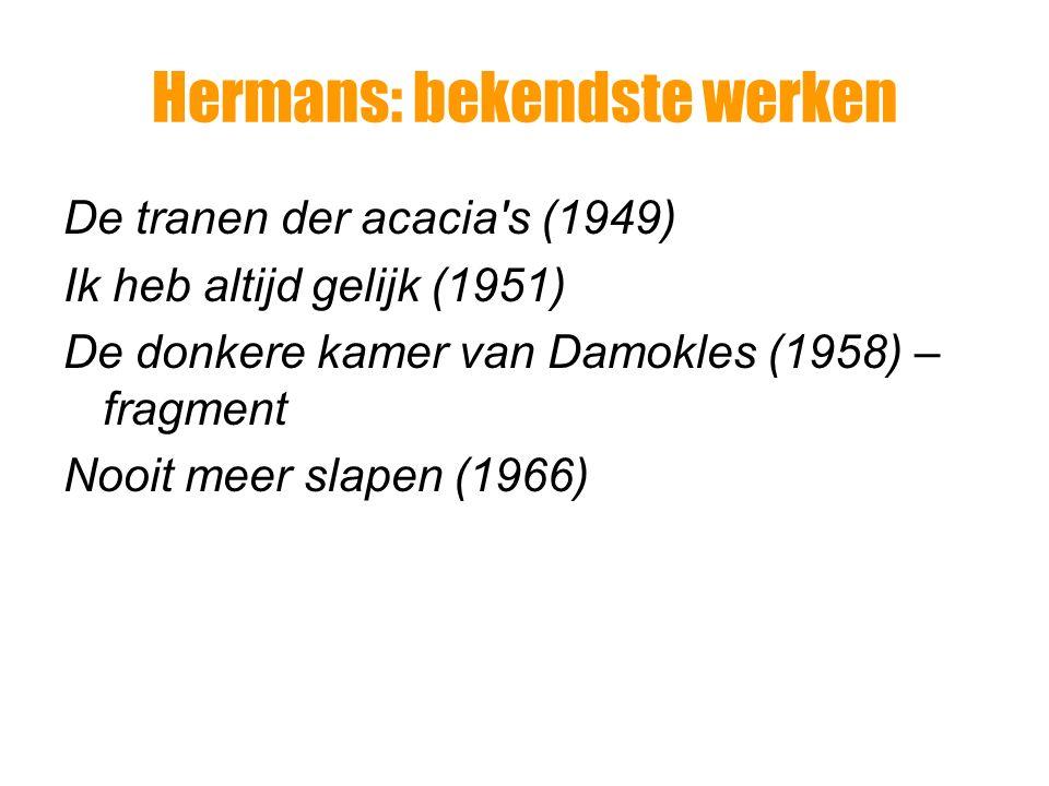 Hermans: bekendste werken