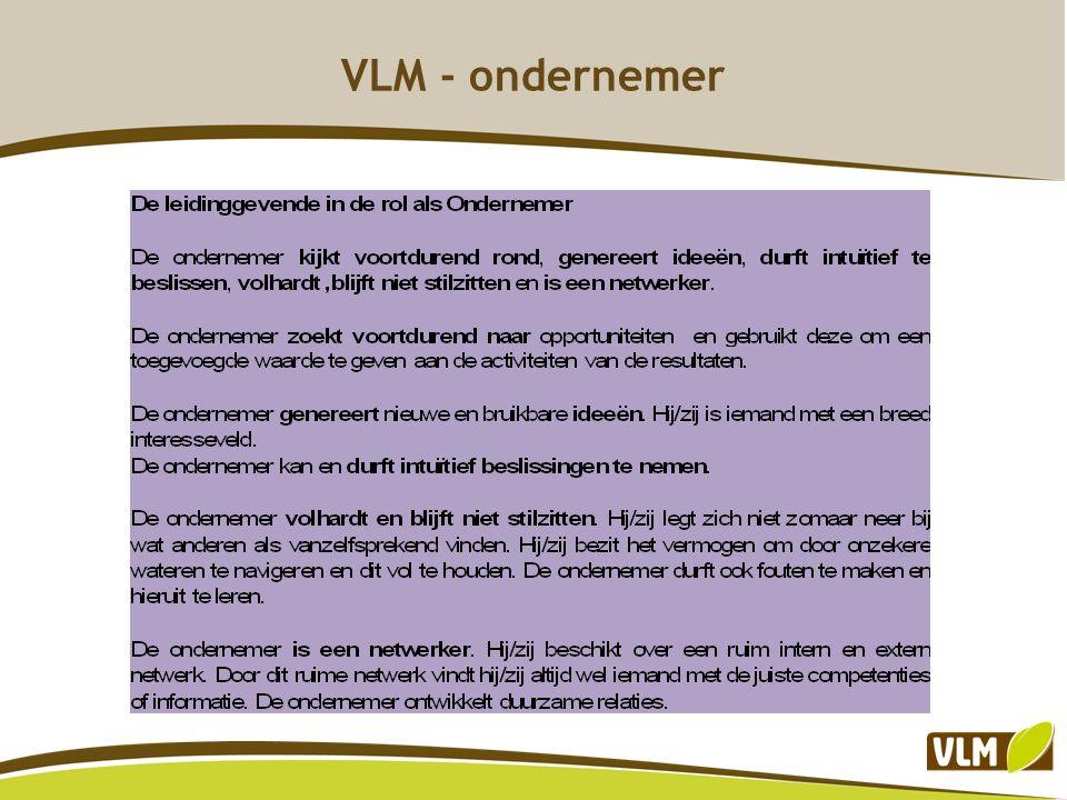 VLM - ondernemer