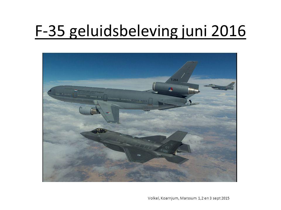 F-35 geluidsbeleving juni 2016