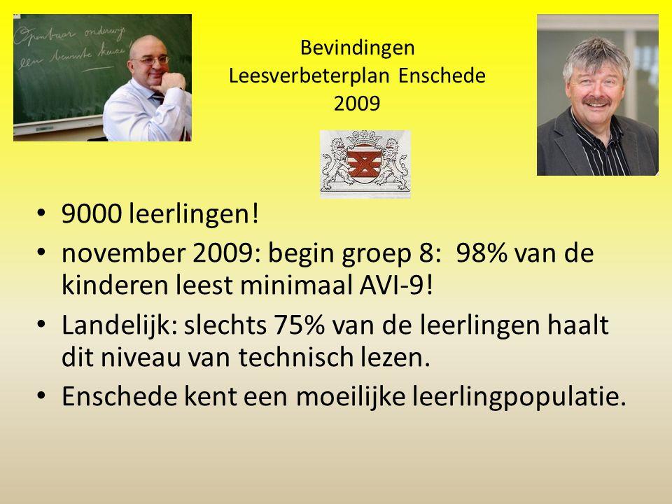Bevindingen Leesverbeterplan Enschede 2009