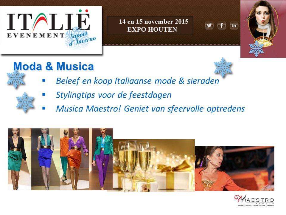 Moda & Musica Beleef en koop Italiaanse mode & sieraden