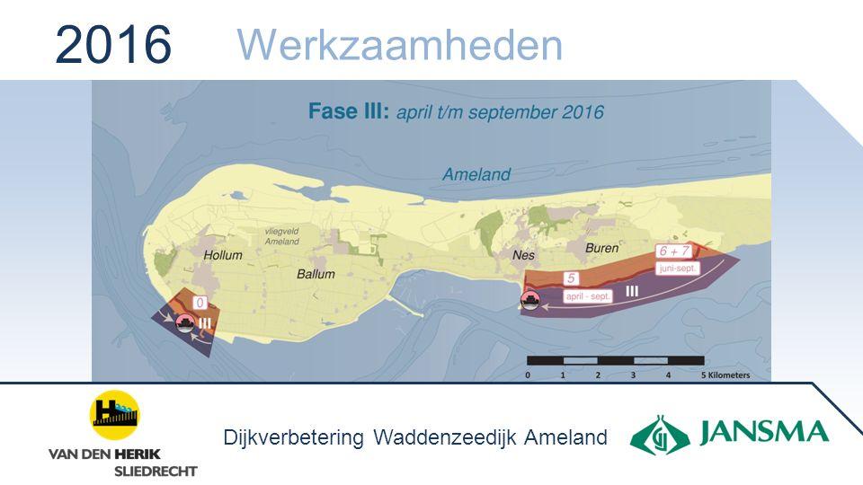 2016 Werkzaamheden Dijkverbetering Waddenzeedijk Ameland