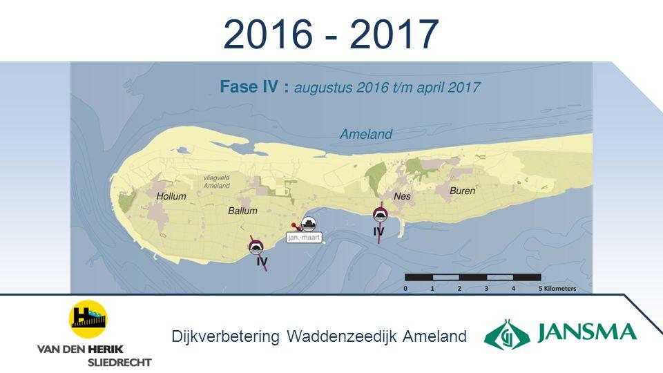2016 - 2017 Dijkverbetering Waddenzeedijk Ameland