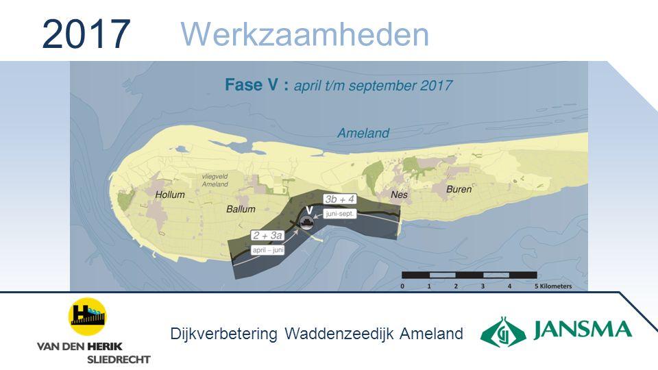2017 Werkzaamheden Dijkverbetering Waddenzeedijk Ameland