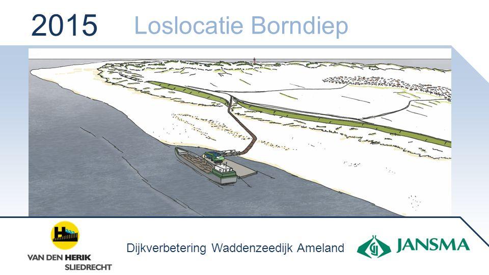 2015 Loslocatie Borndiep Dijkverbetering Waddenzeedijk Ameland