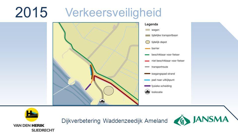 2015 Verkeersveiligheid Dijkverbetering Waddenzeedijk Ameland