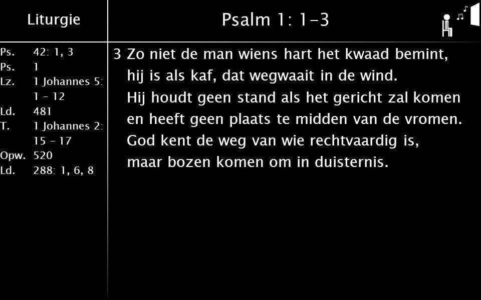 Psalm 1: 1-3