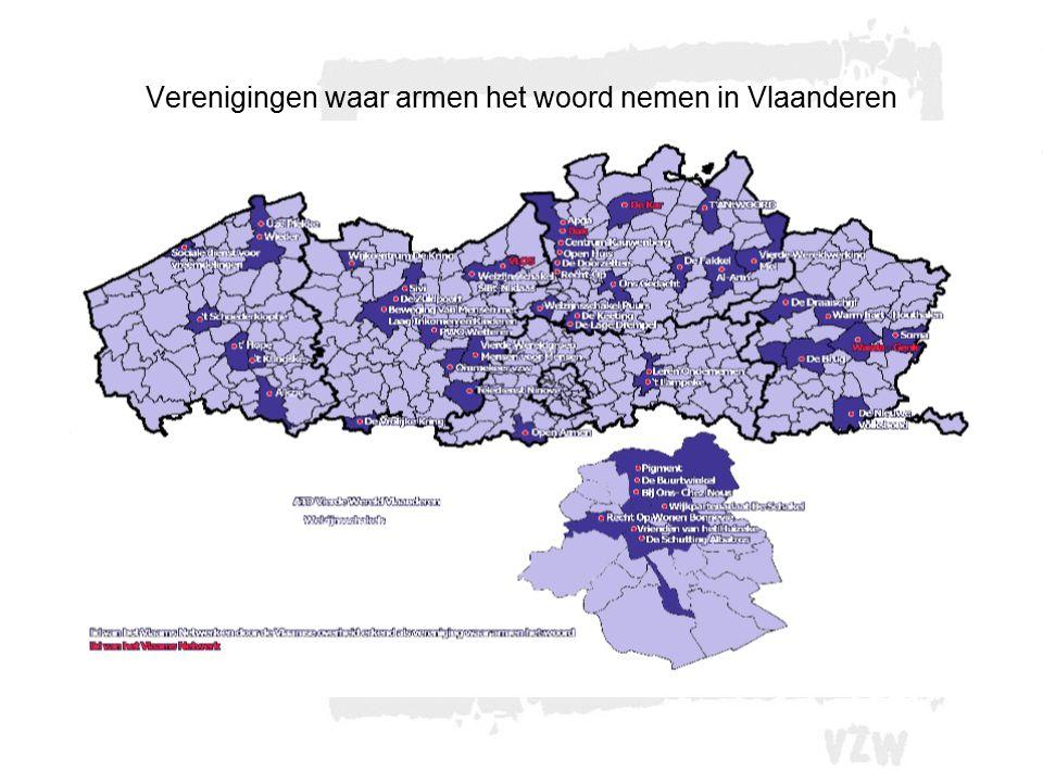 Verenigingen waar armen het woord nemen in Vlaanderen