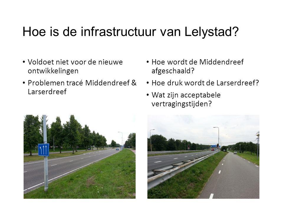 Hoe is de infrastructuur van Lelystad