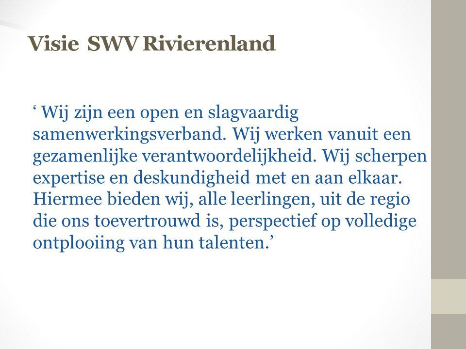 Visie SWV Rivierenland