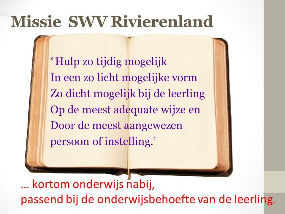 Missie SWV Rivierenland
