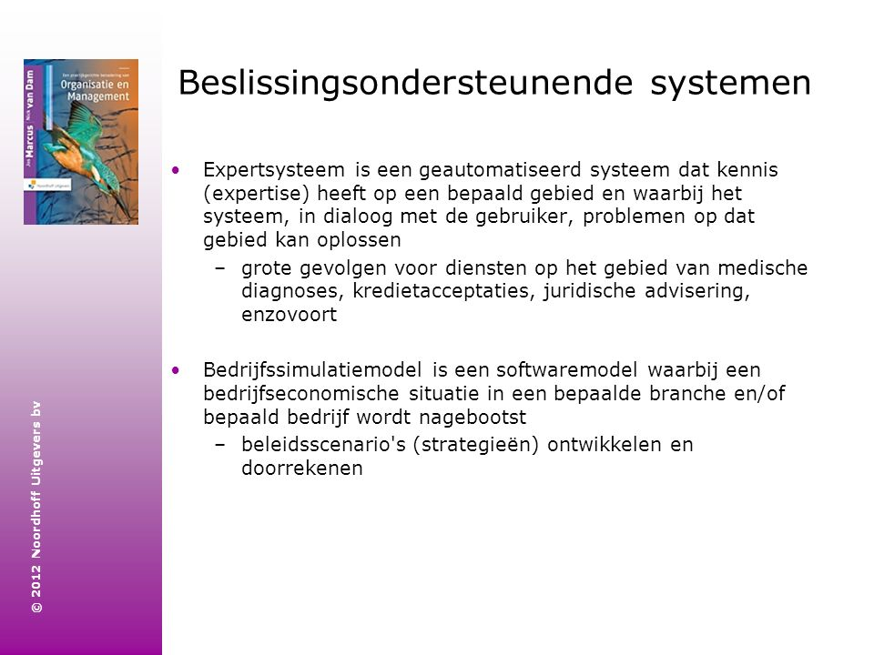 Beslissingsondersteunende systemen