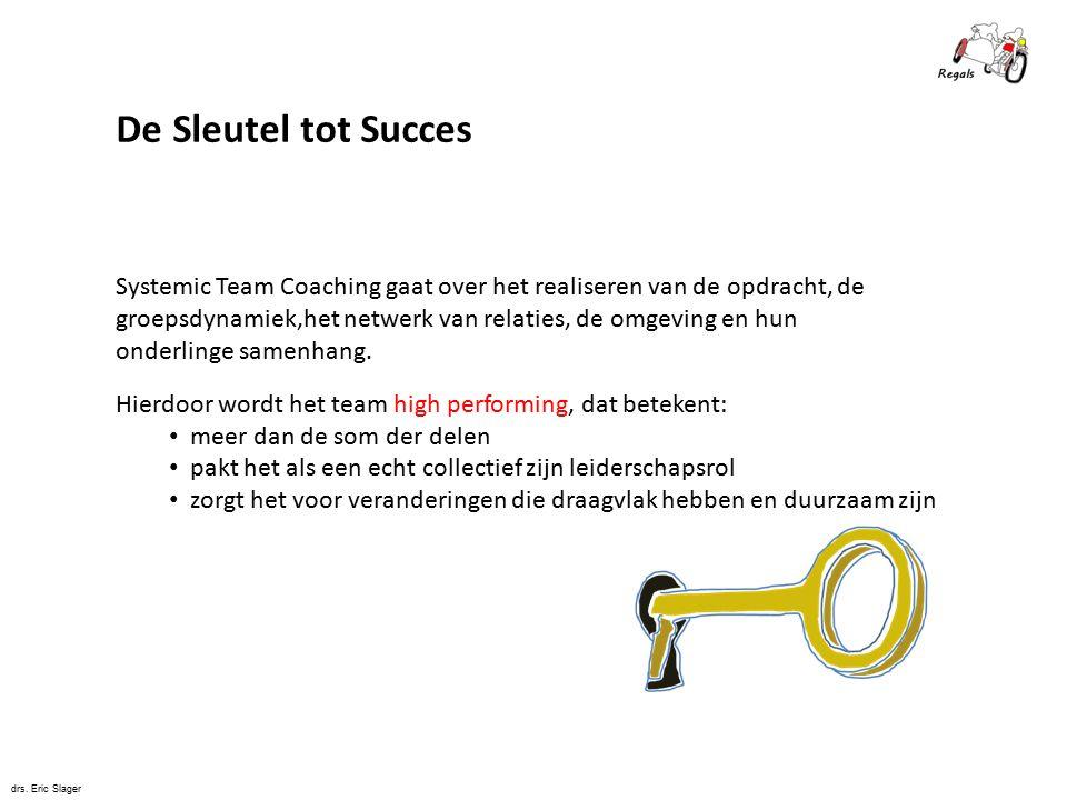 De Sleutel tot Succes Systemic Team Coaching gaat over het realiseren van de opdracht, de.