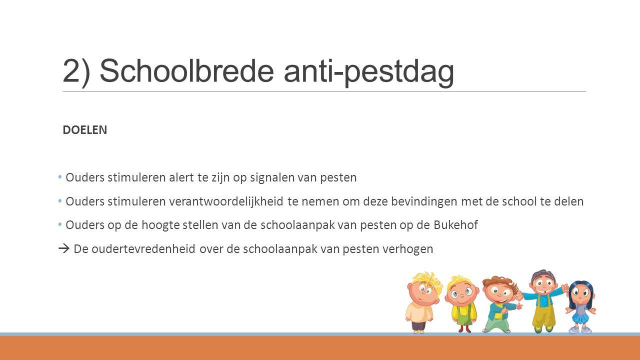 2) Schoolbrede anti-pestdag