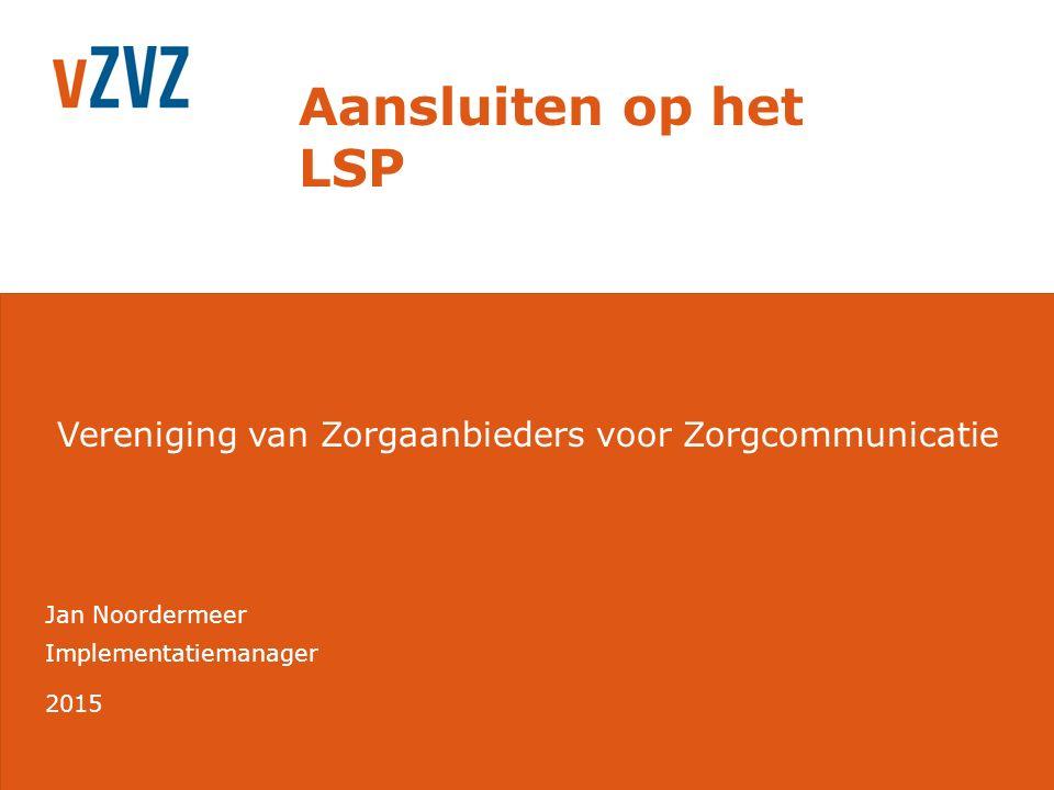 Aansluiten op het LSP