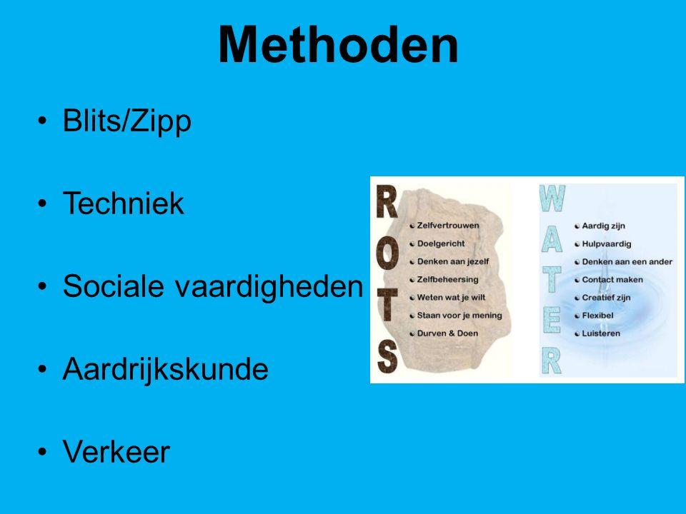 Methoden Blits/Zipp Techniek Sociale vaardigheden Aardrijkskunde
