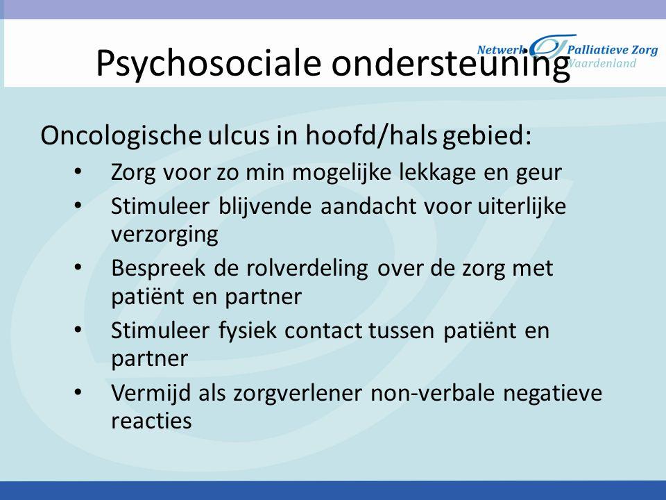 Psychosociale ondersteuning