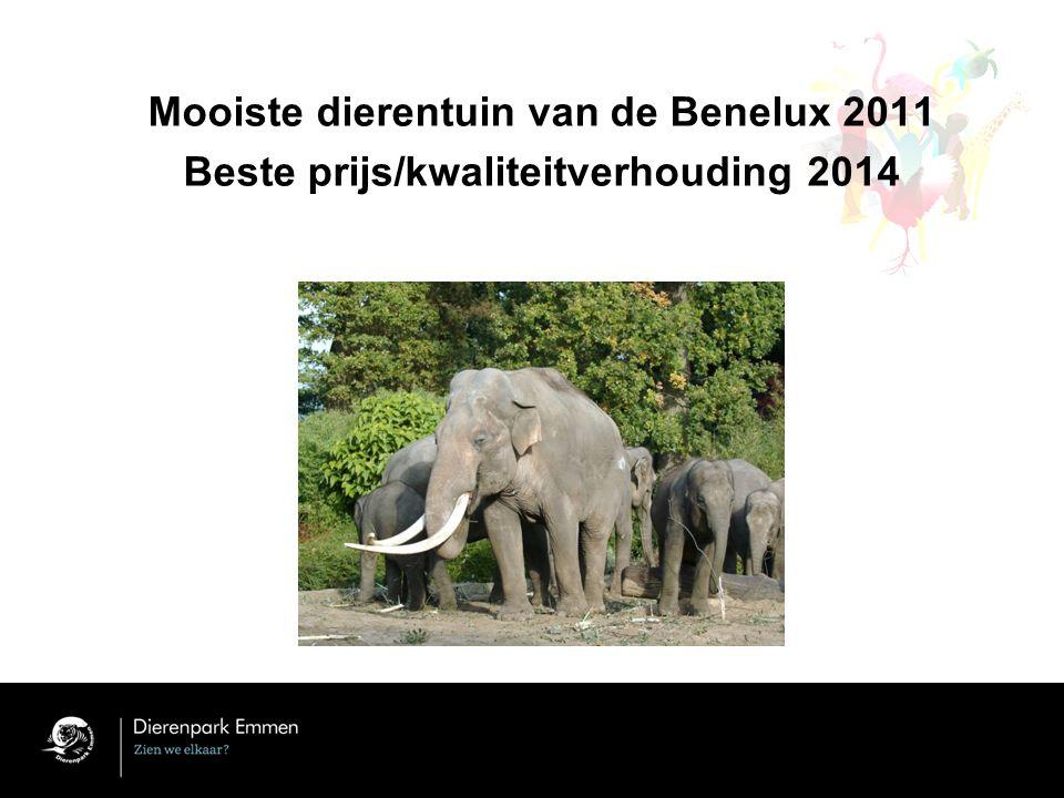 Mooiste dierentuin van de Benelux 2011