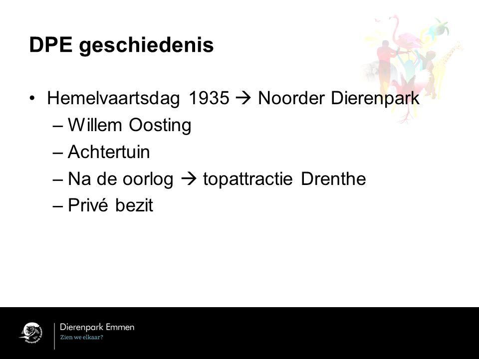 DPE geschiedenis Hemelvaartsdag 1935  Noorder Dierenpark