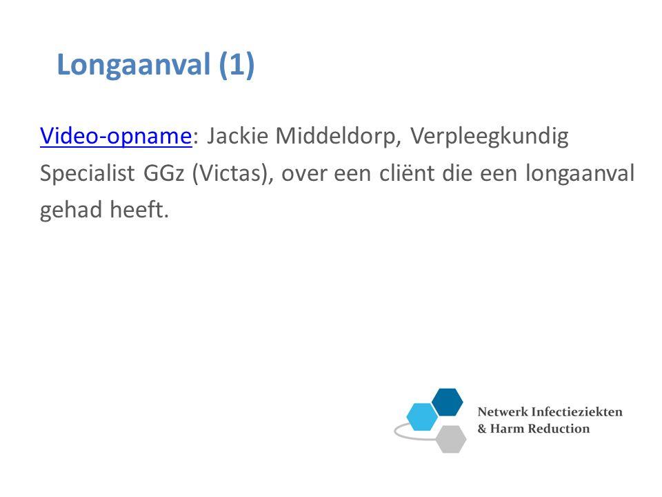 Longaanval (1) Video-opname: Jackie Middeldorp, Verpleegkundig Specialist GGz (Victas), over een cliënt die een longaanval gehad heeft.