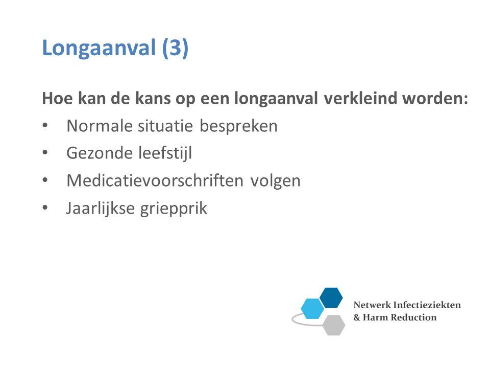 Longaanval (3) Hoe kan de kans op een longaanval verkleind worden: