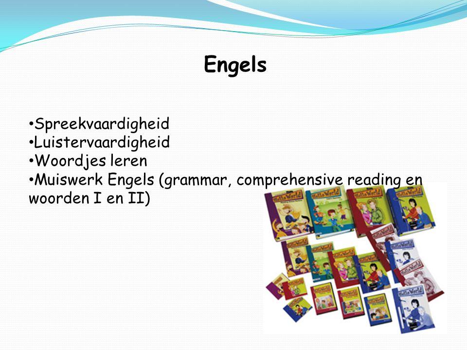 Engels Spreekvaardigheid Luistervaardigheid Woordjes leren