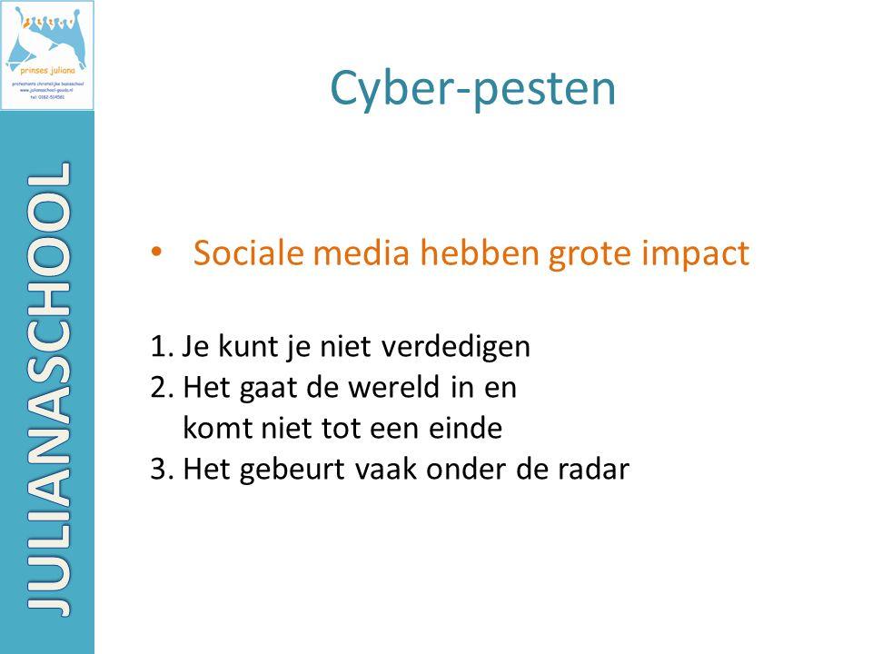 Sociale media hebben grote impact