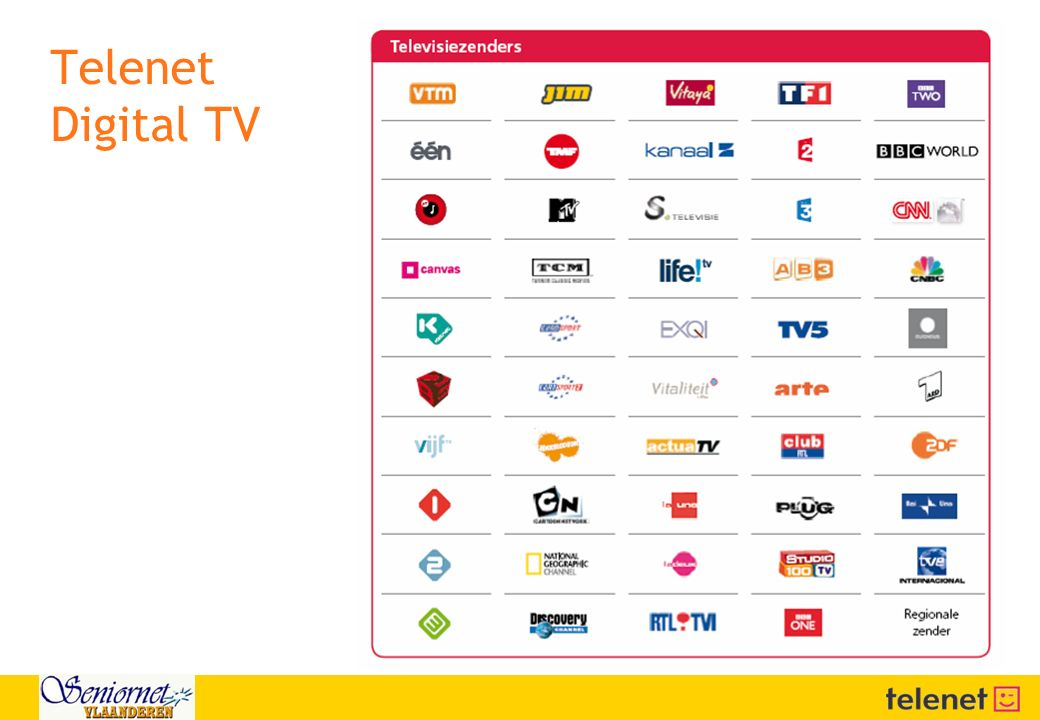 Telenet Digital TV