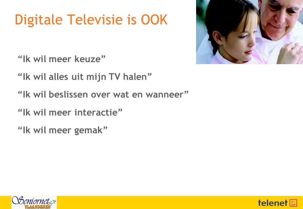 Digitale Televisie is OOK