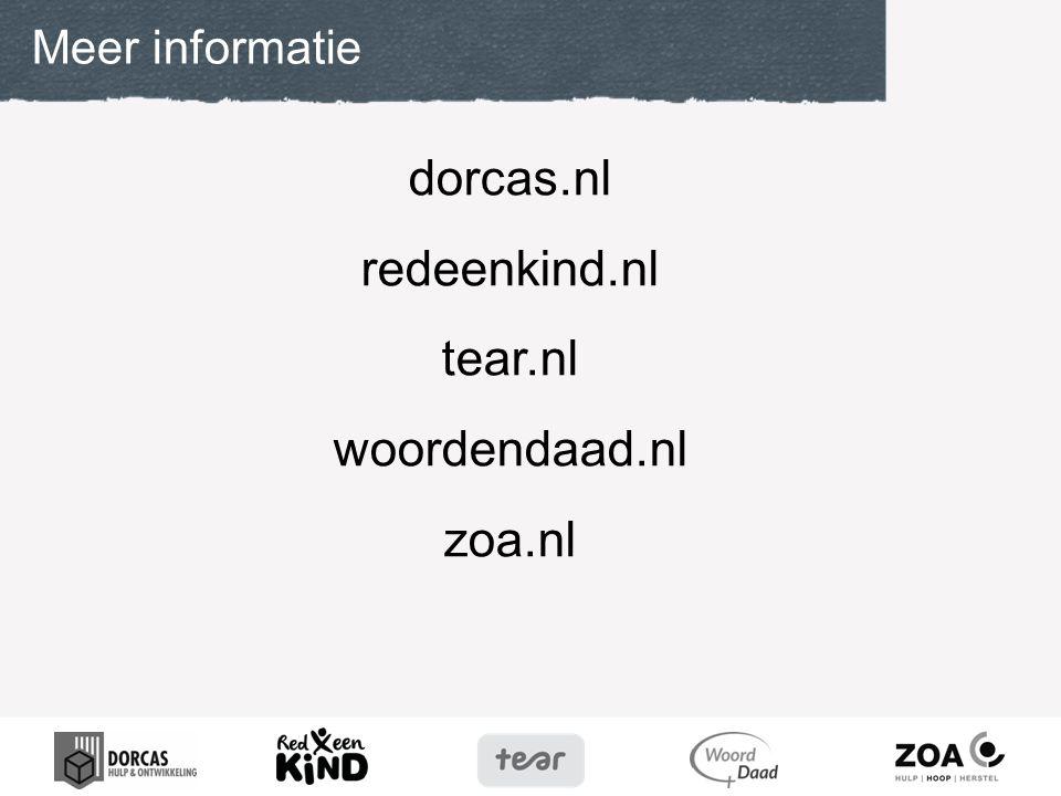 dorcas.nl redeenkind.nl tear.nl woordendaad.nl zoa.nl